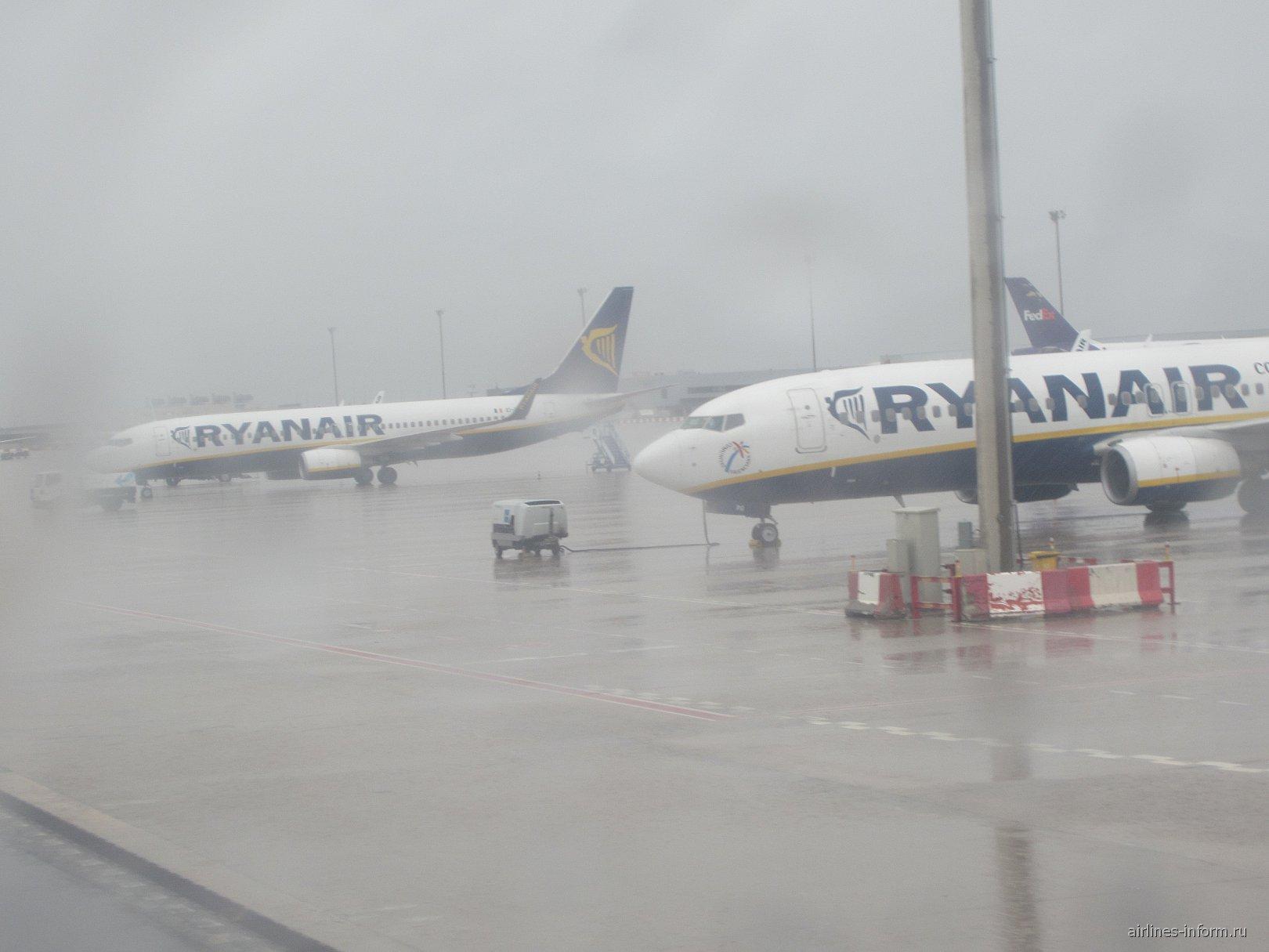 В аэропорту Барселона Эль-Прат
