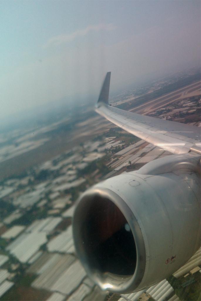 Взлет из аэропорта Анталья
