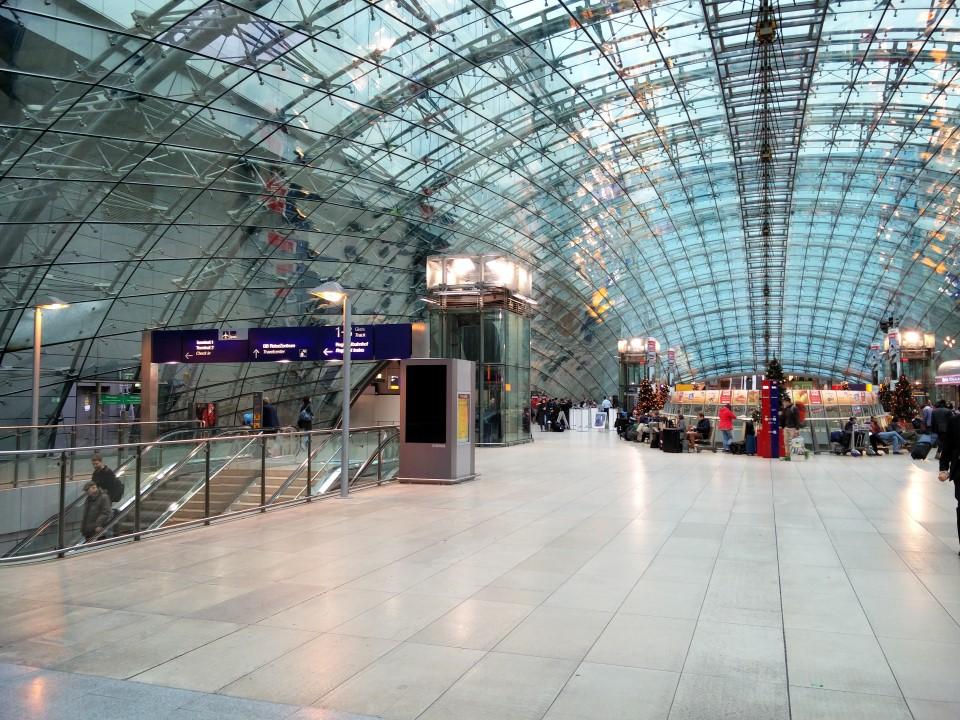 В аэропорту Франкфурт