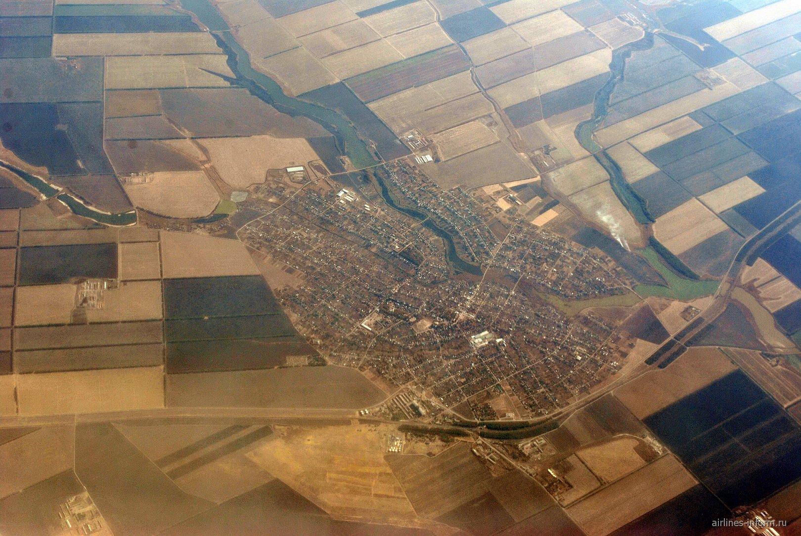 В полете над Кубанью