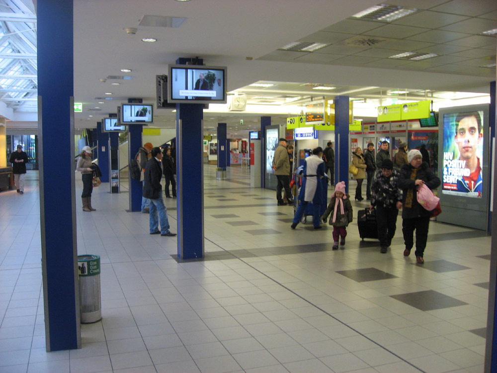 Terminal A of Berlin Schohefeld Airport