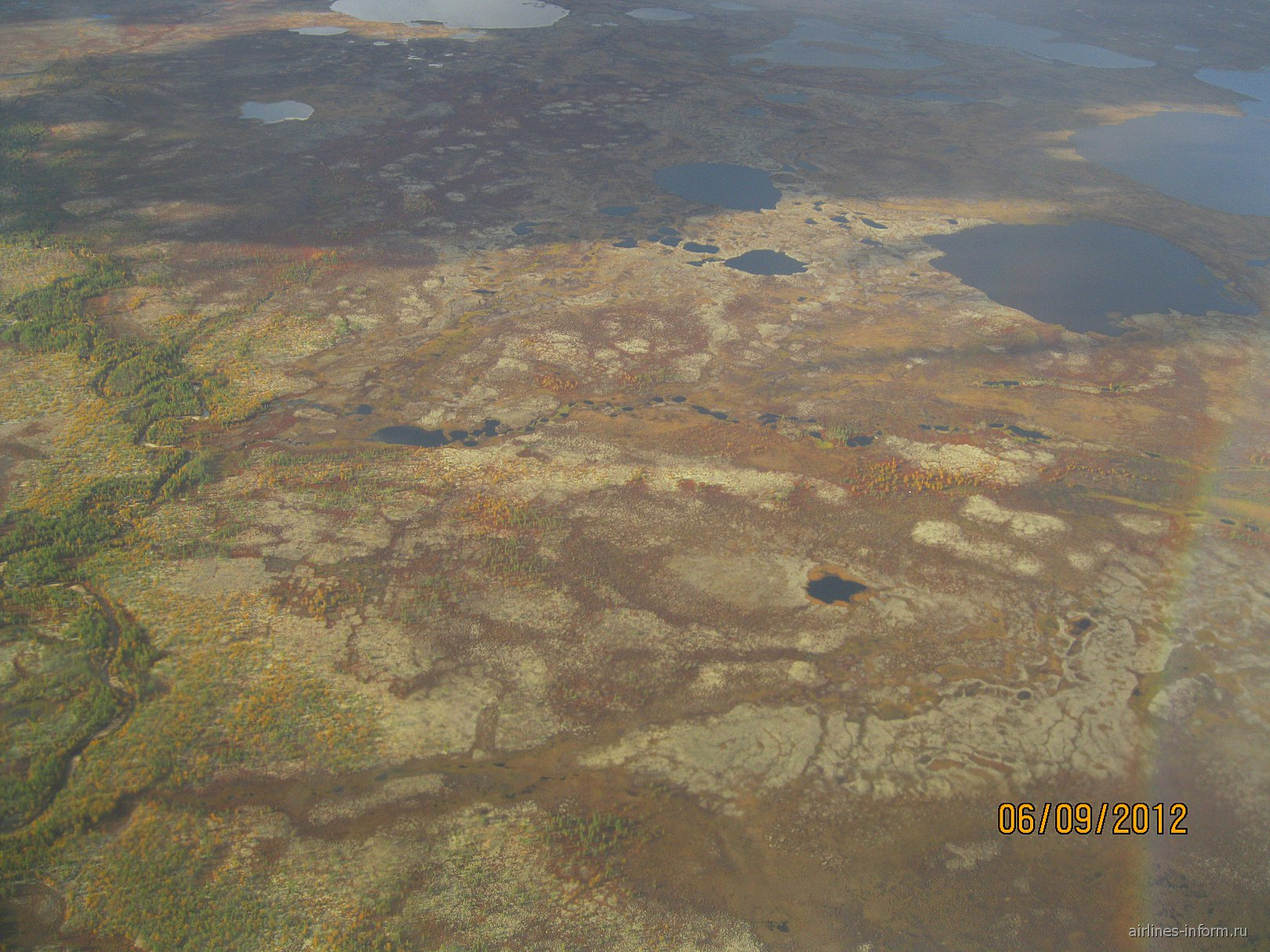 В полете над Ямалом