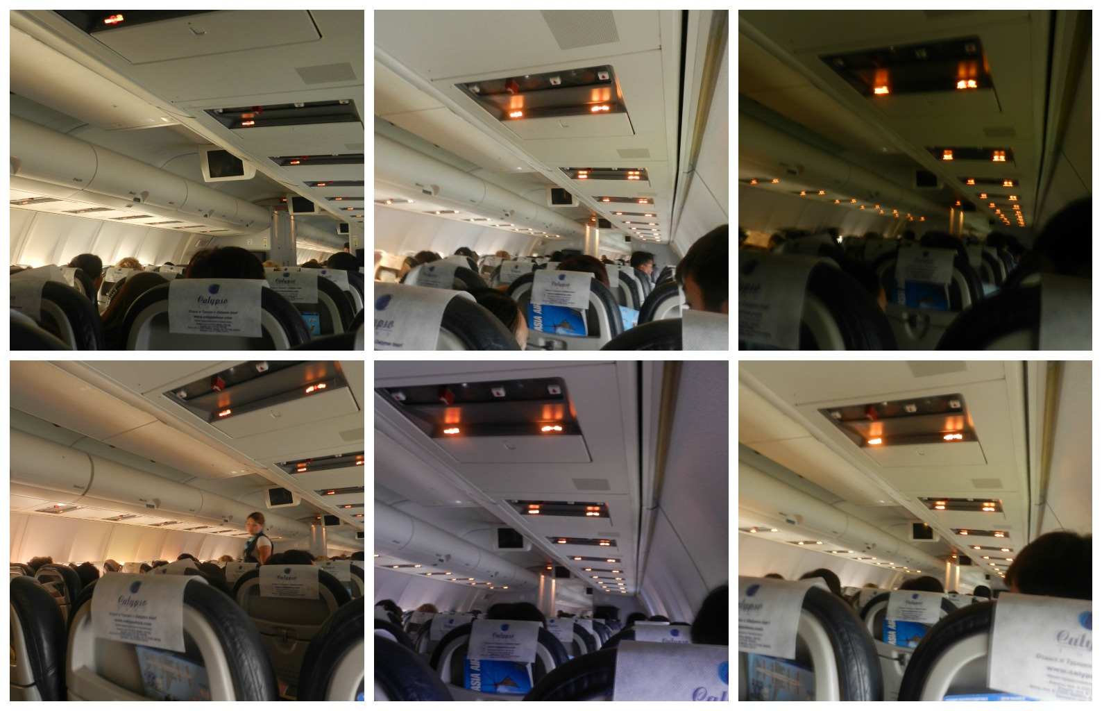 Салон Боинга-757 авиакомпании СКАТ