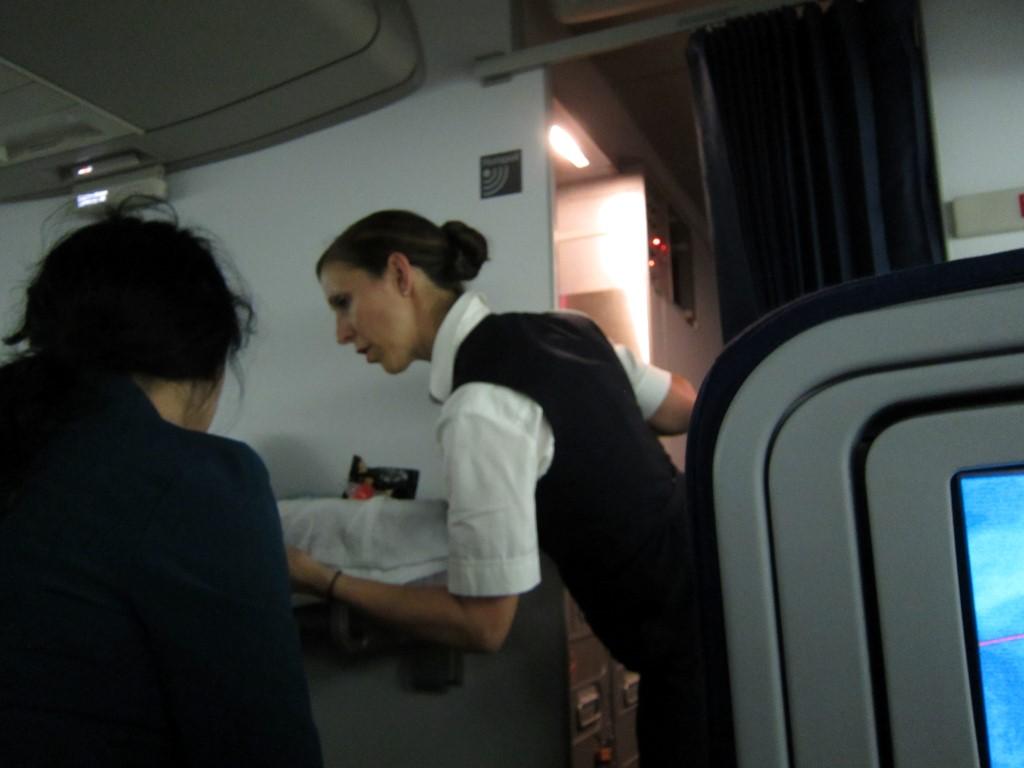 Бортпроводники авиакомпании Люфтганза