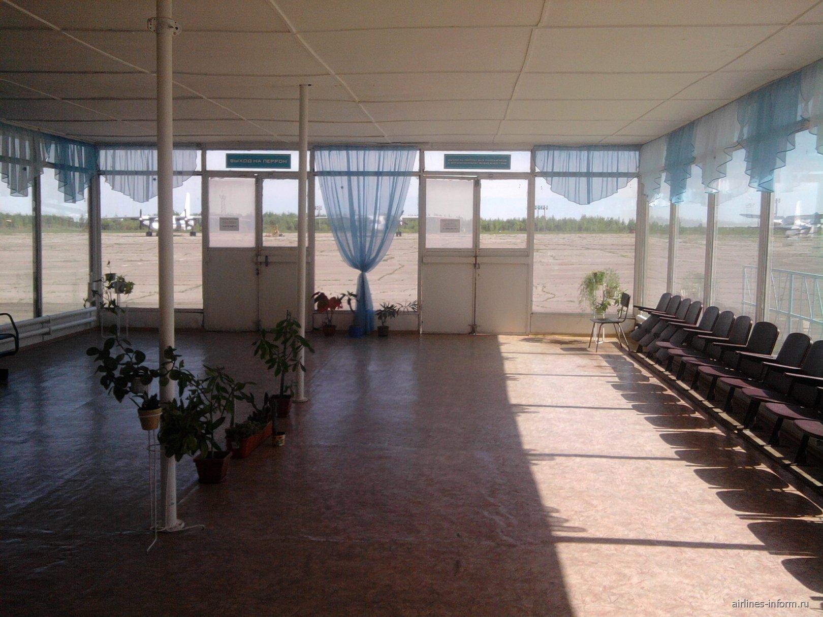Накопитель в аэропорту Костромы