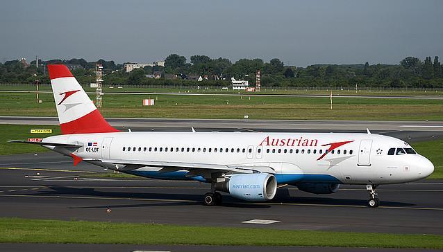 Airbus A319 авиакомпании Austrian Airlines