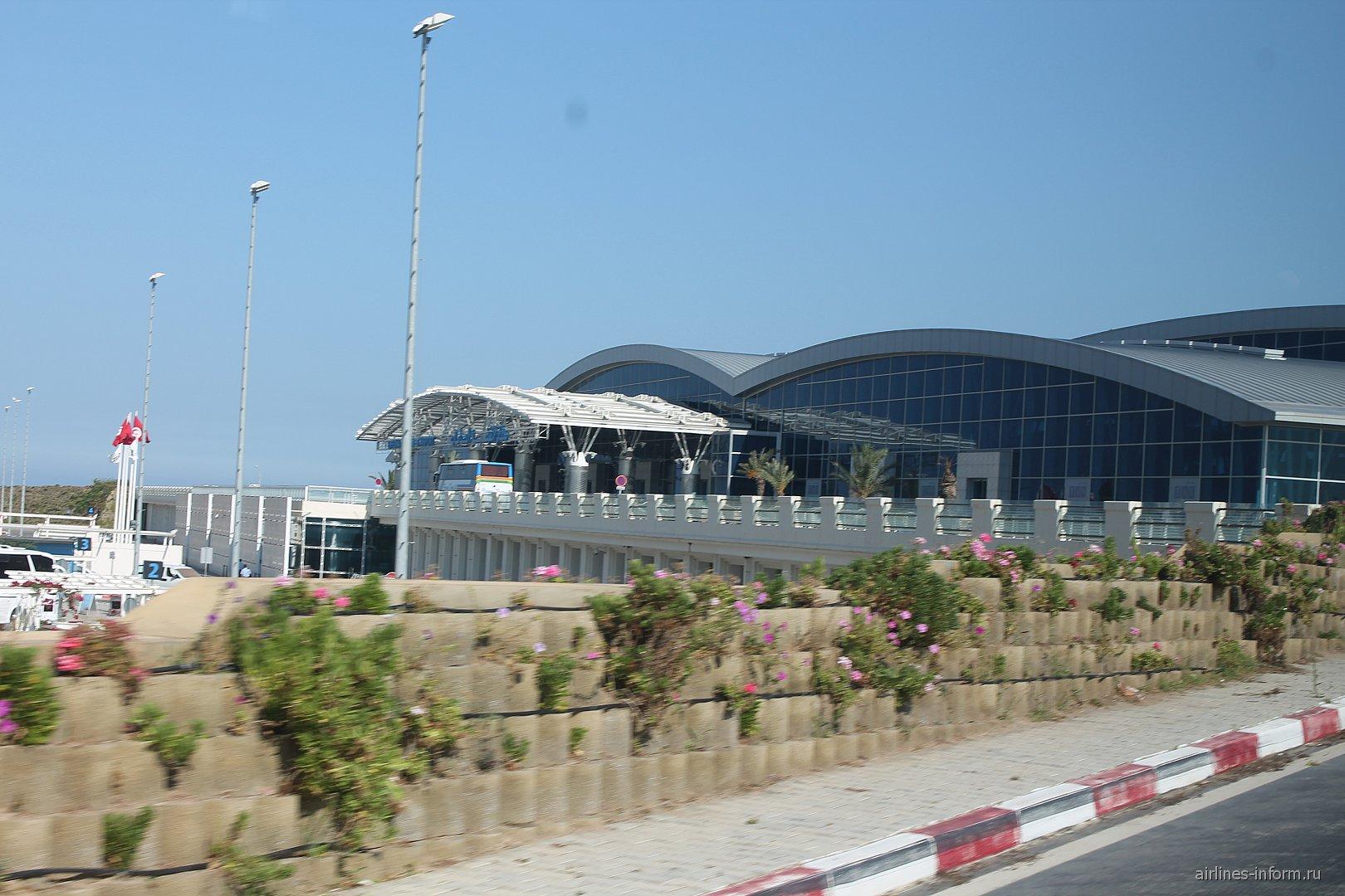 Аэровокзал аэропорта Энфида-Хаммамет