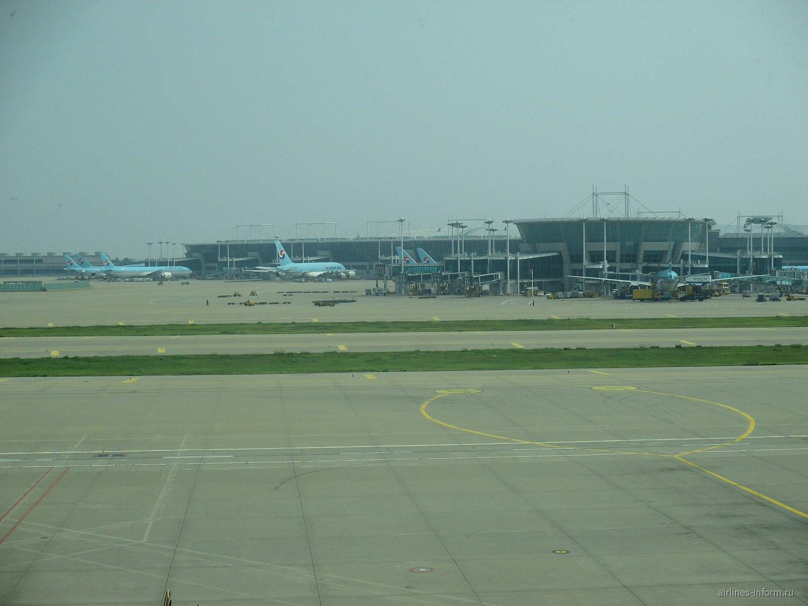 Главный пассажирский терминал аэропорта Сеул Инчхон