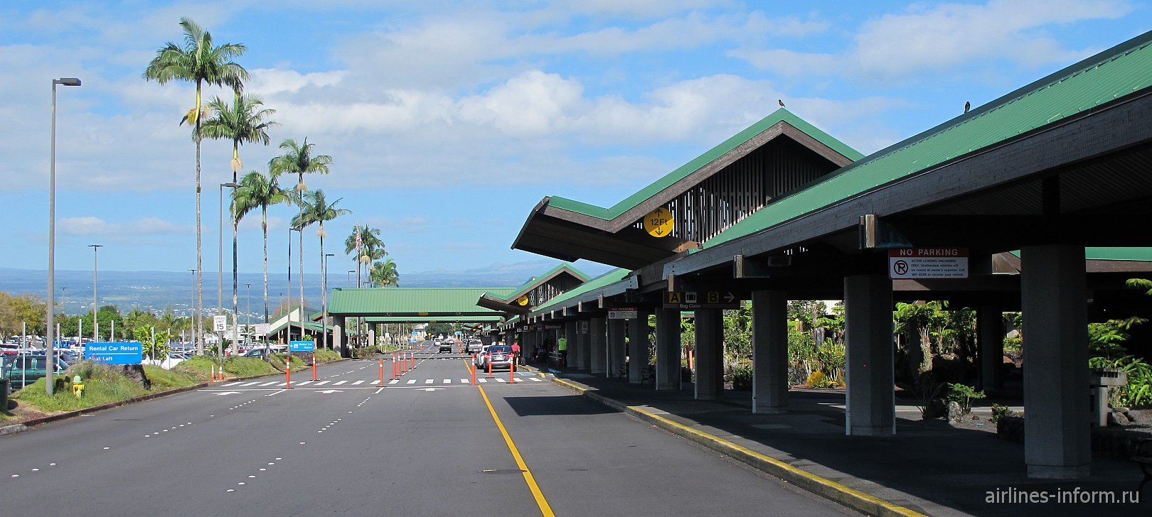 Пассажирский терминал аэропорта Хило