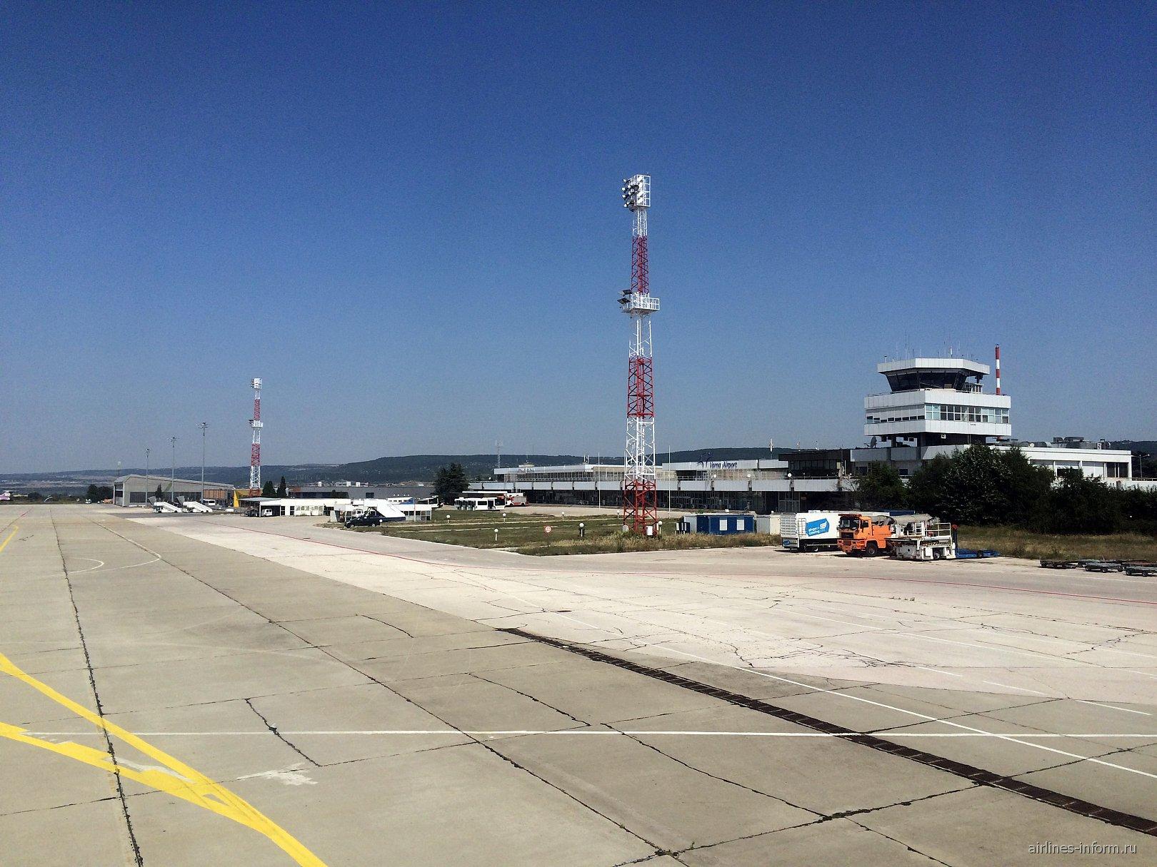 Старый аэровокзал аэропорта Варна