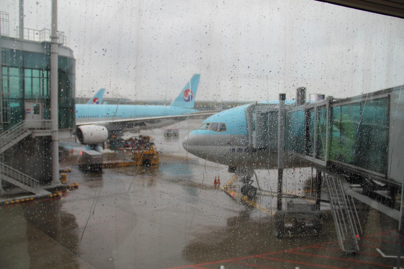 Рейс Москва-Сеул прибыл в аэропорт Инчхон