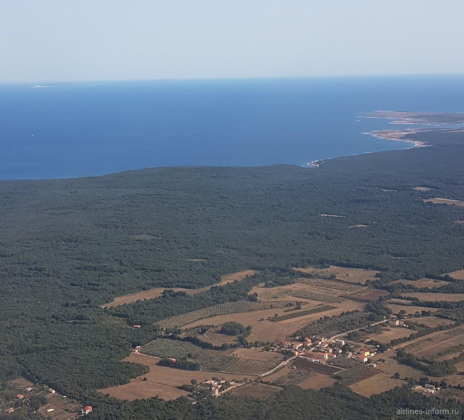 Полуостров Истрия на севере Хорватии