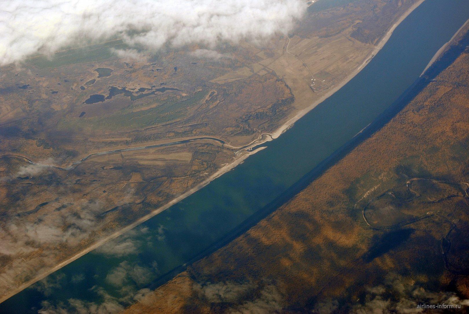 Река Лена в Восточной Сибири