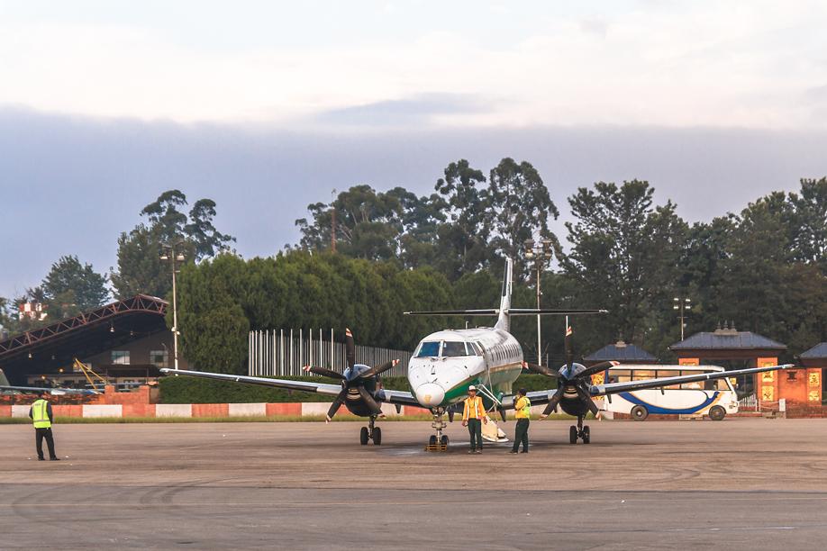 Jetstream 41 авиакомпании Yeti Airlines в аэропорту Катманду