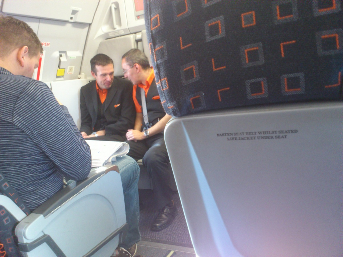 EasyJet flight attendents