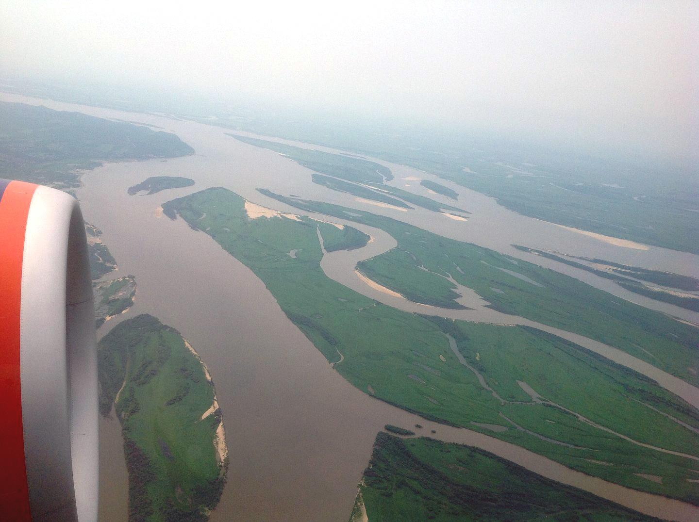 Река Амур вблизи Хабаровска