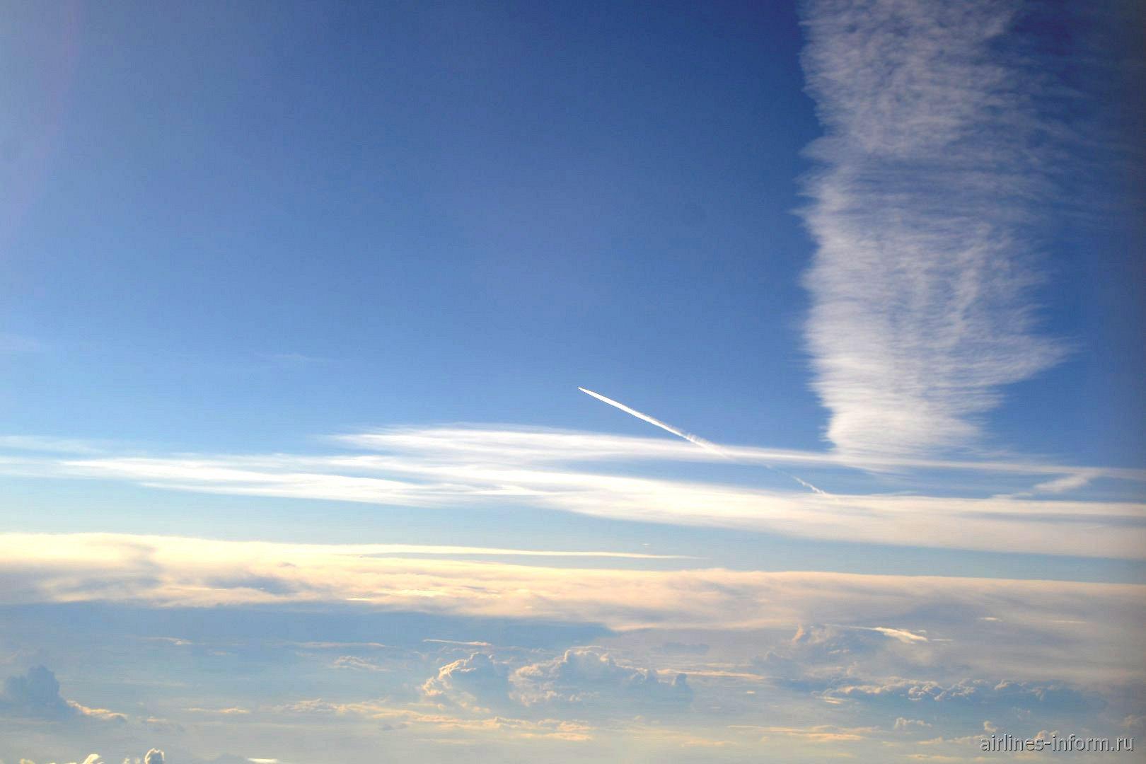 В небе над центральной Европой