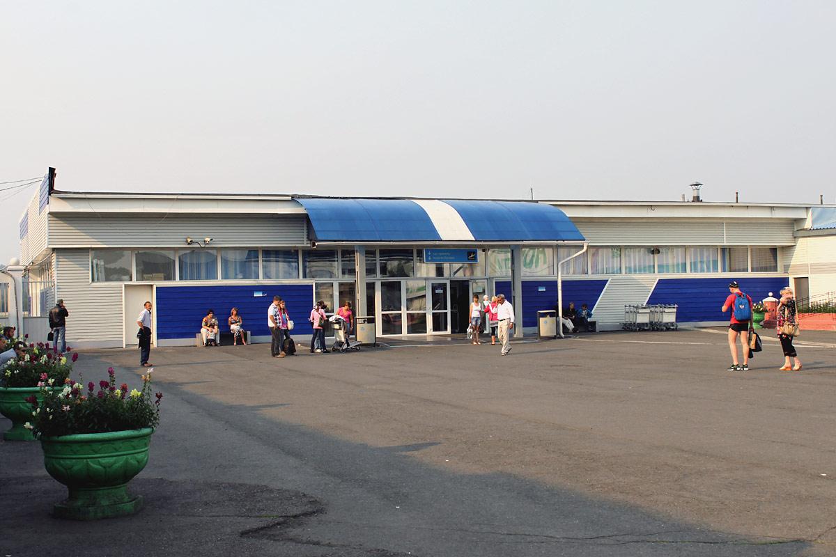 Павильон выдачи багажа (Терминал 3) аэропорта Емельяново