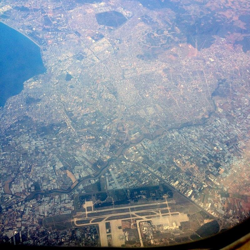 Город и аэропорт Анталья