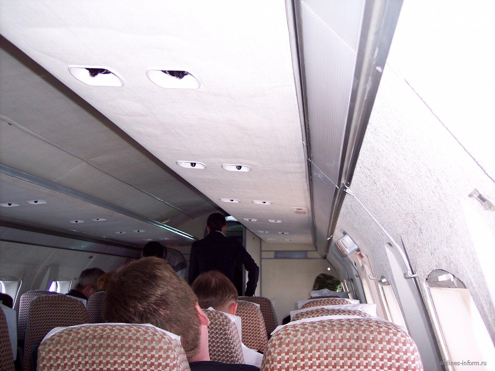 Салон Як-40 Бугульминского авиапредприятия