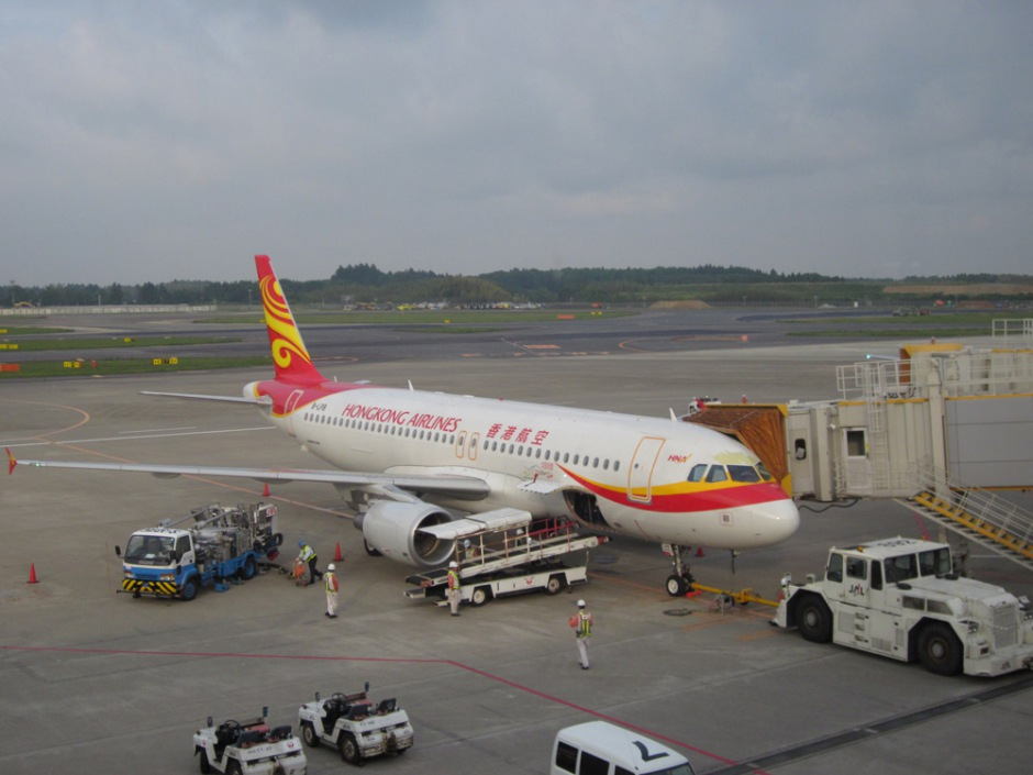 Airbus A320 of Hong Kong Airlines