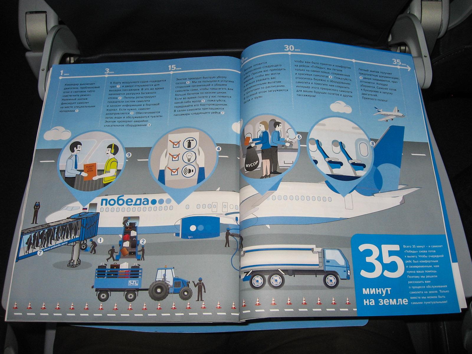 Журнал для пассажиров авиакомпании