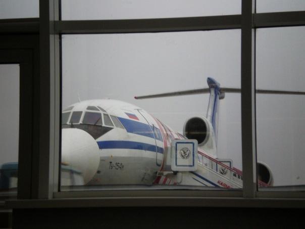 Самолет Ту-154 авиакомпании Кавминводыавиа
