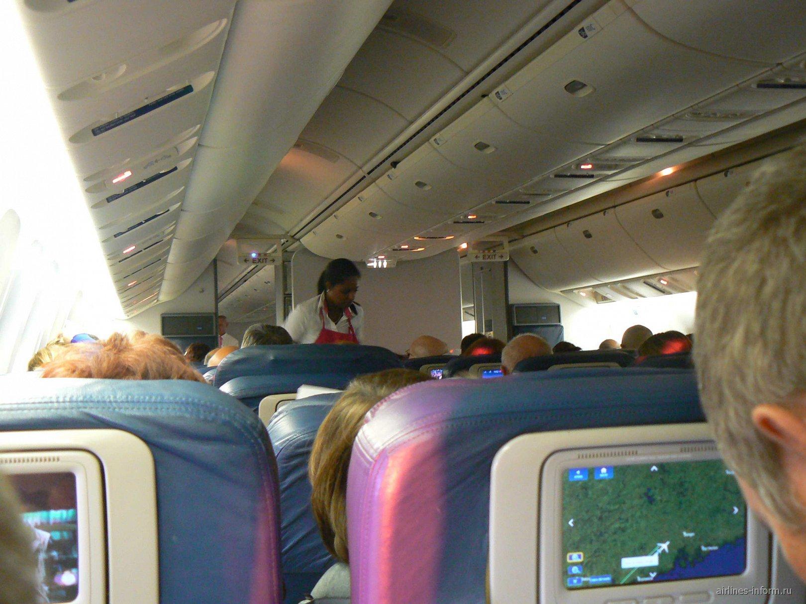 В салоне В-767-400. Место 40А