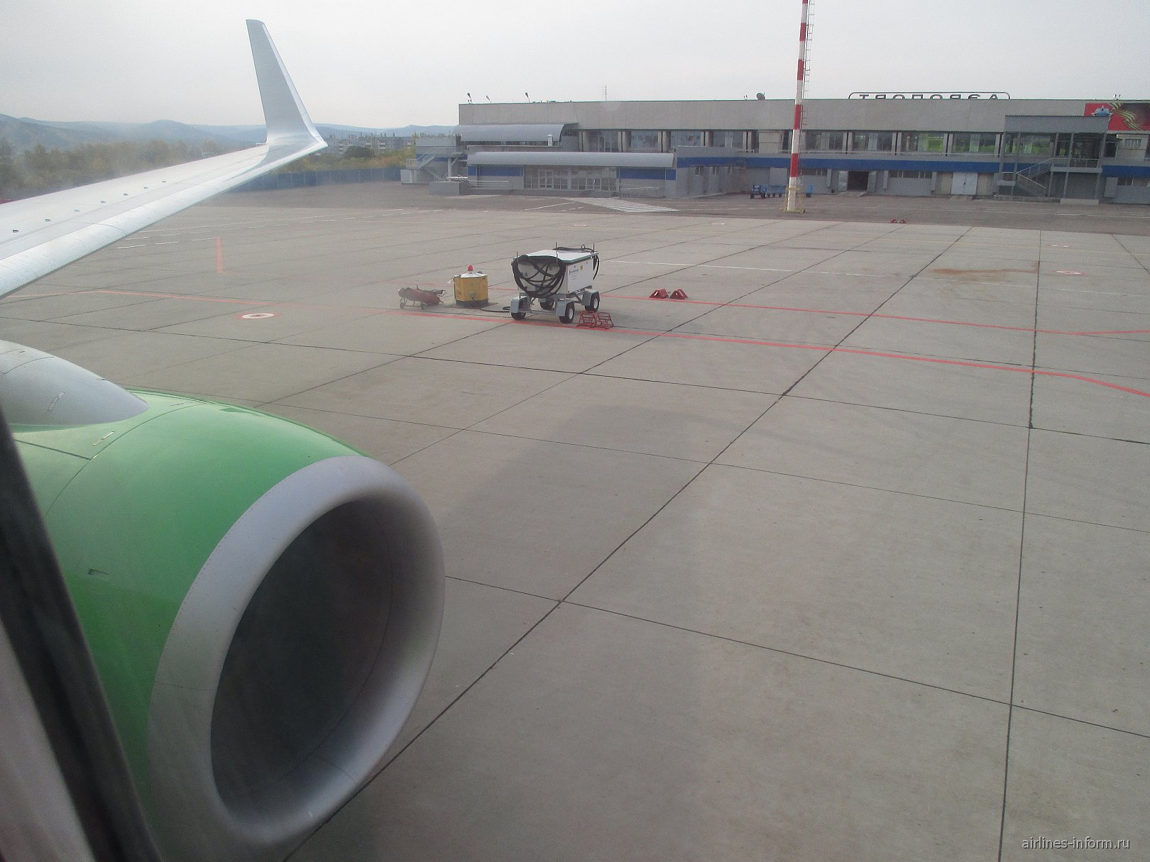 Перрон аэропорта Чита Кадала
