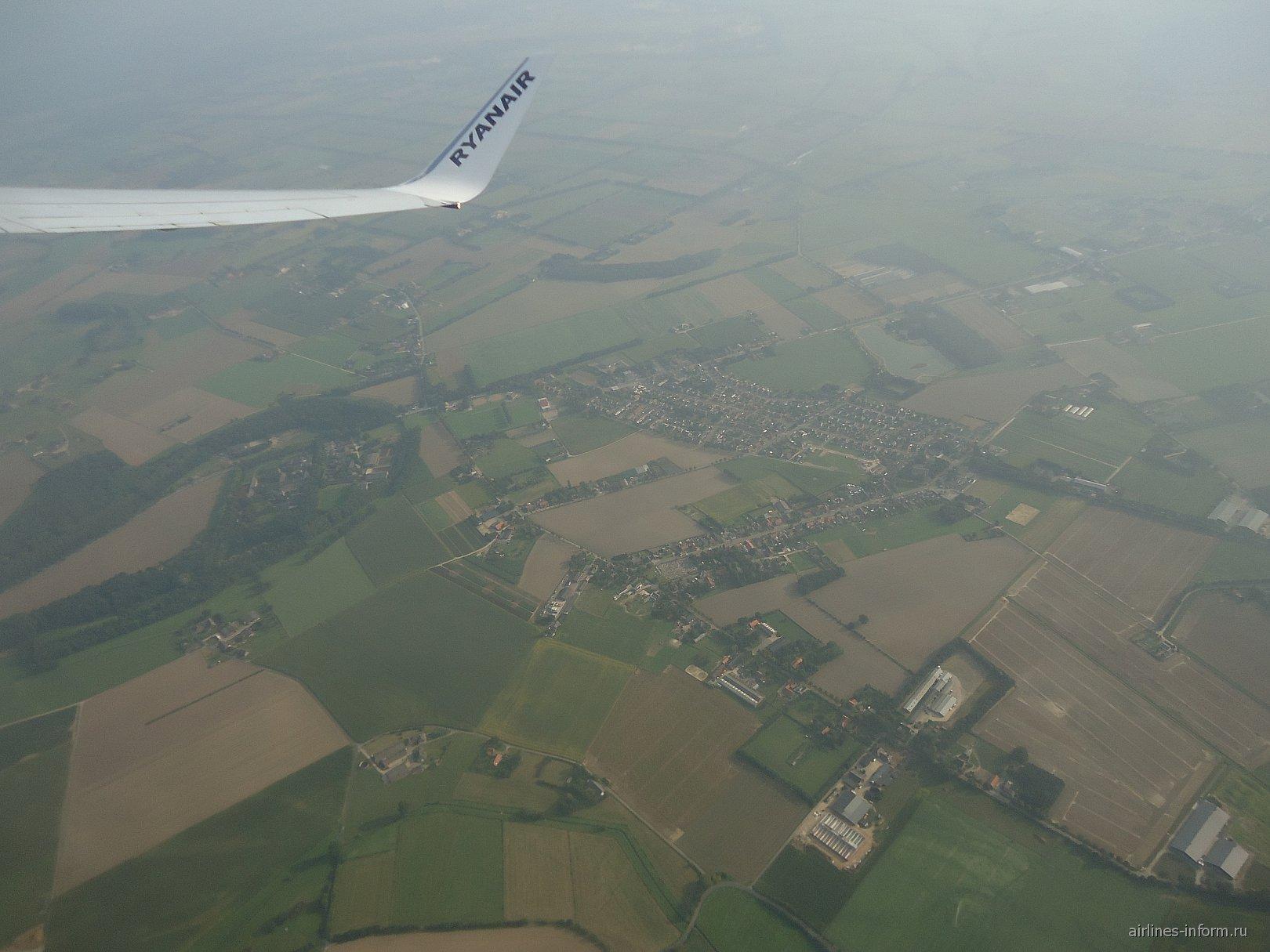 С Ryanair в полете над Европой