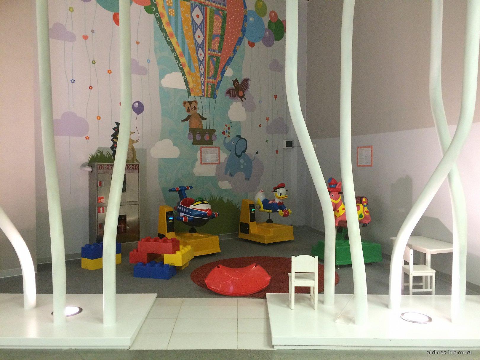 Детская игровая площадка в аэропорту Екатеринбург Кольцово