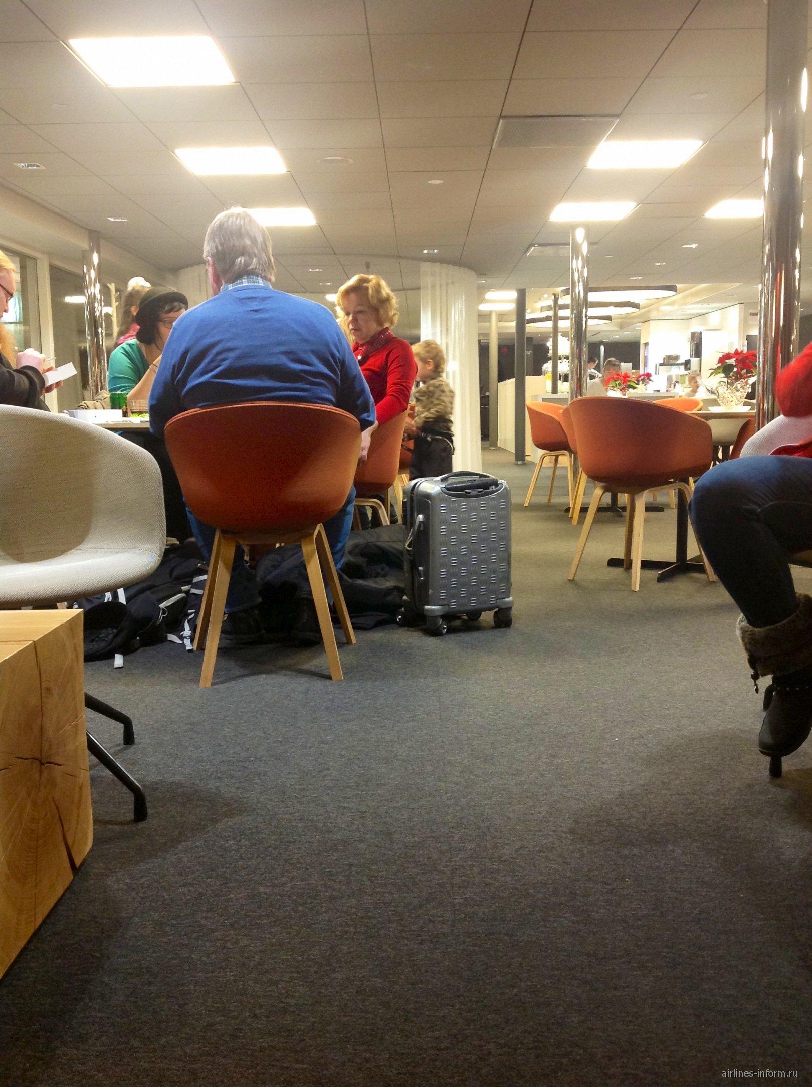 Бизнес-зал в аэропорту Хельсинки Вантаа