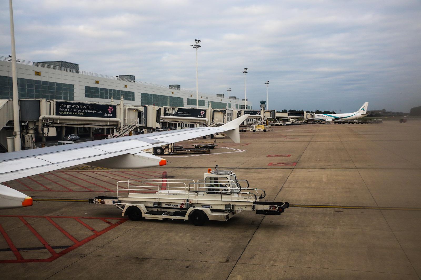 Пассажирский терминал аэропорта Брюссель