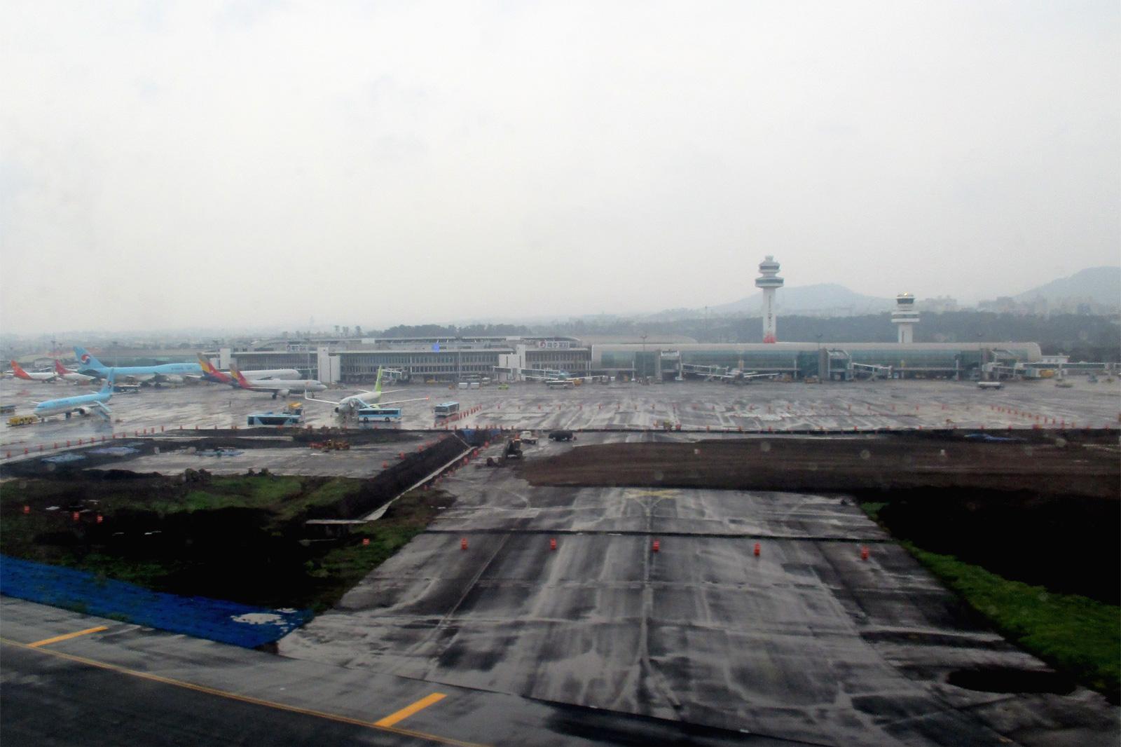 Аэропорт Чеджу в Южной Корее