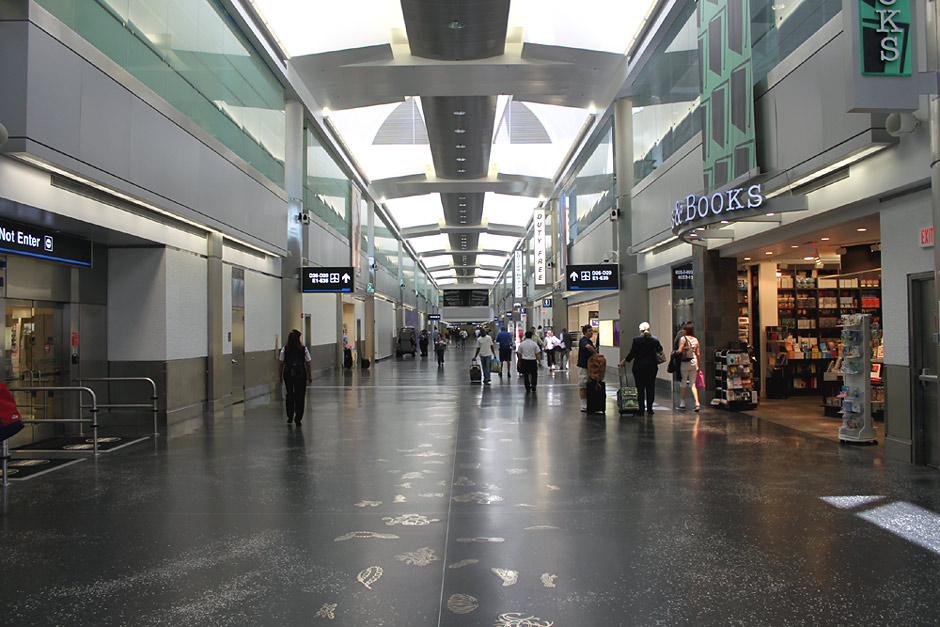 Аэровокзал аэропорта Майами
