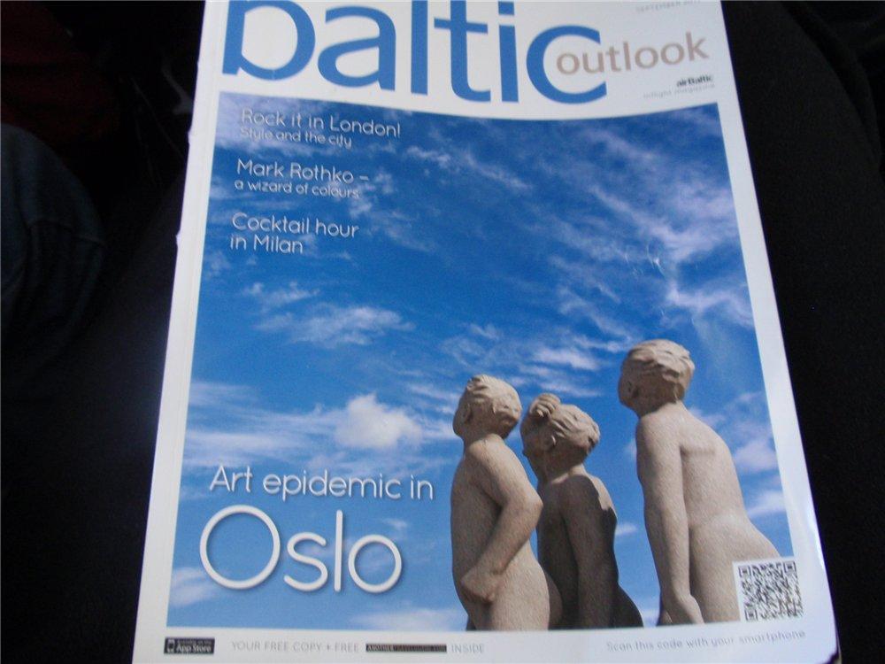 Журнал для пассажиров авиакомпании airBaltic