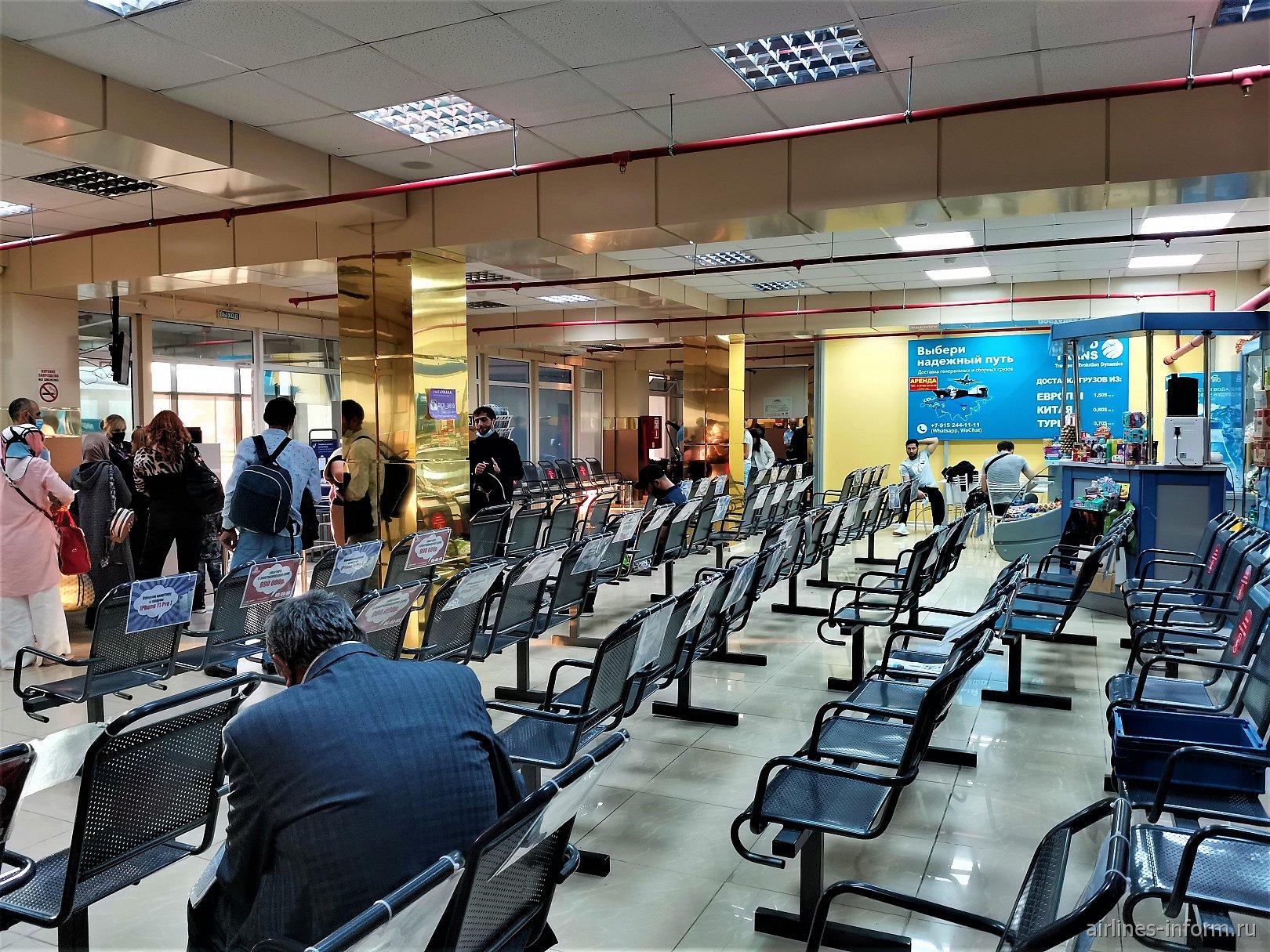 """Чистая зона"" в аэропорту Махачкала Уйташ"