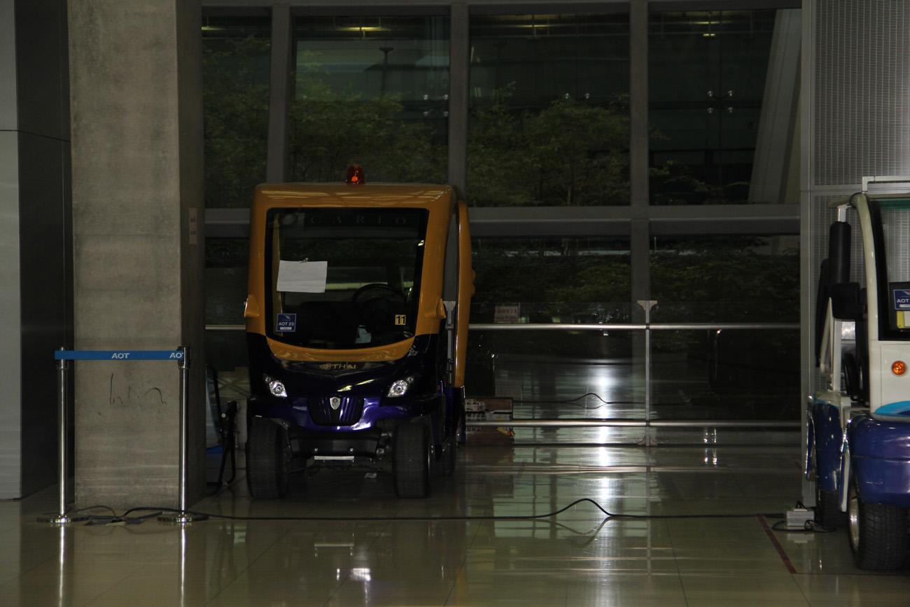 В аэропорту Бангкок Савурнабхуми