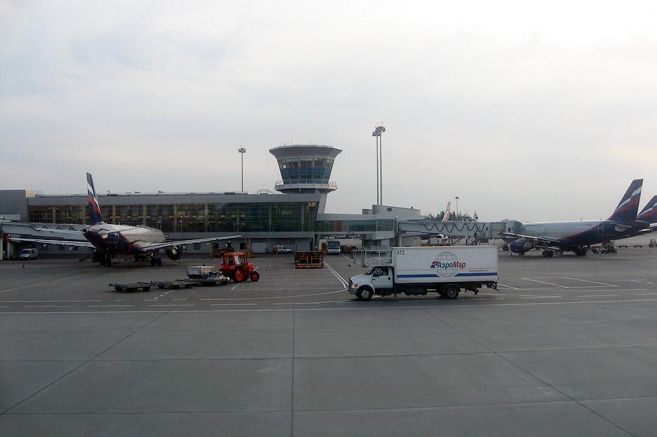 В аэропорту Москва Шереметьево