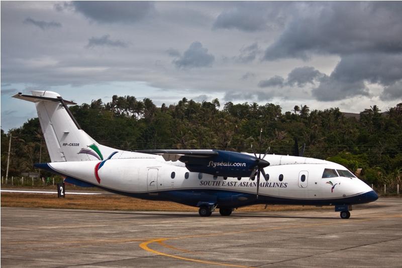 Самолет Dornier 328 авиакомпании SEAIR