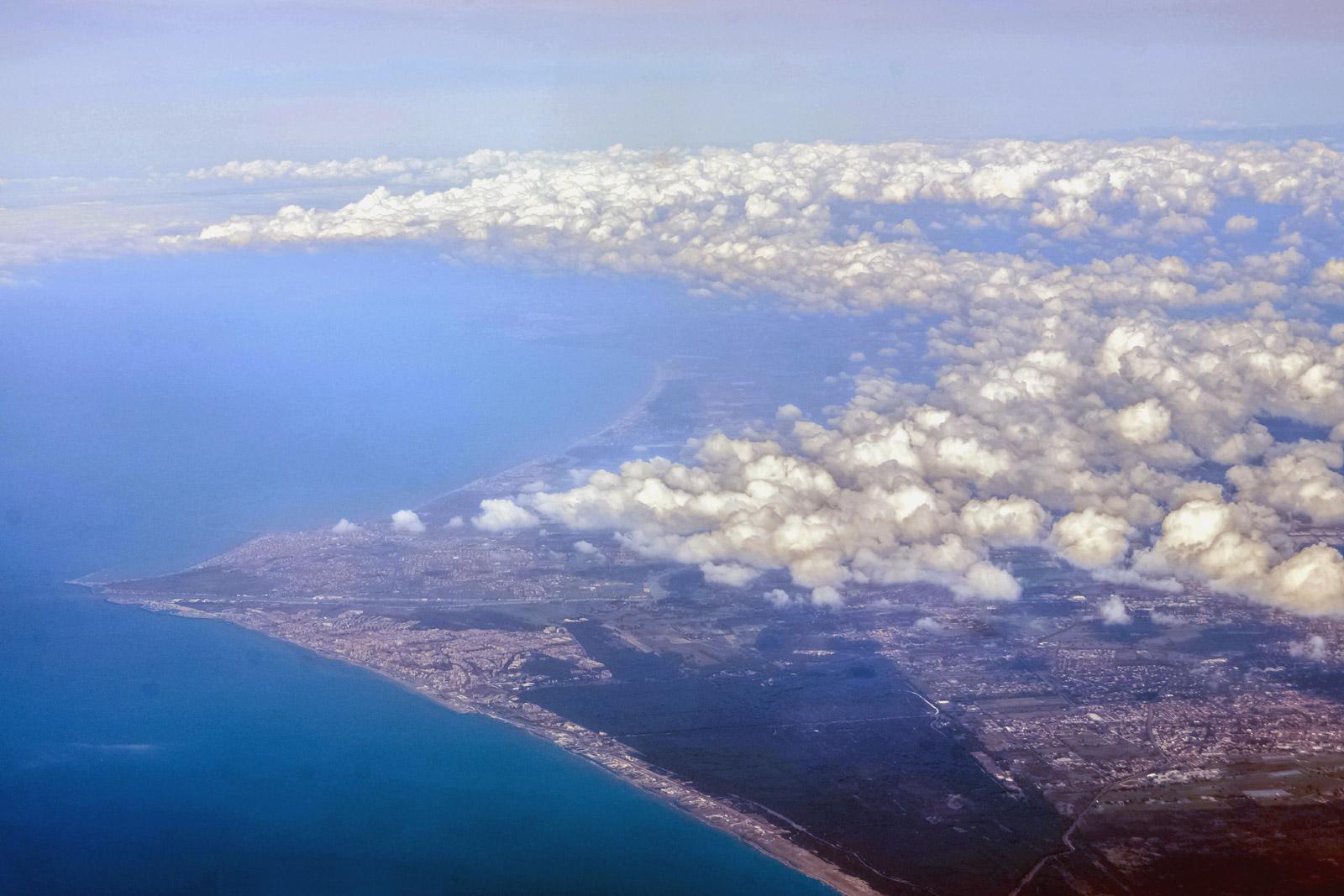 Тирренское побережье рядом с Римом