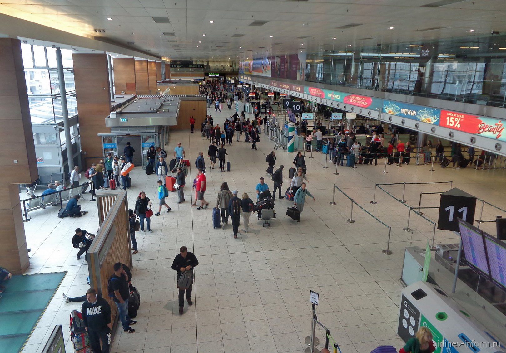 В терминале 1 аэропорта Дублин