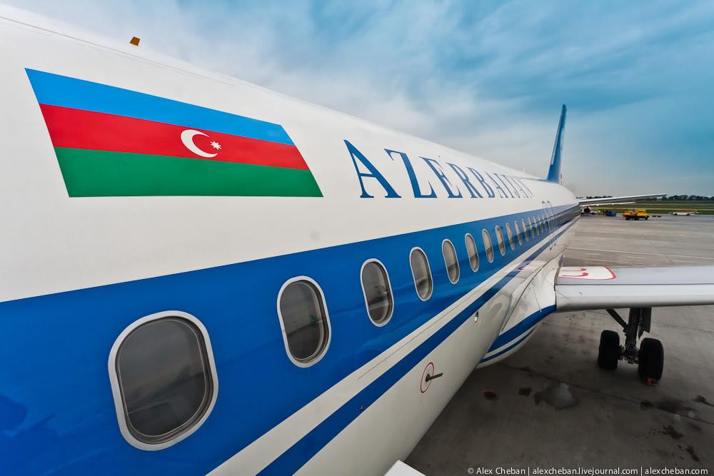 Airbus A320 Азербайджанских авиалиний