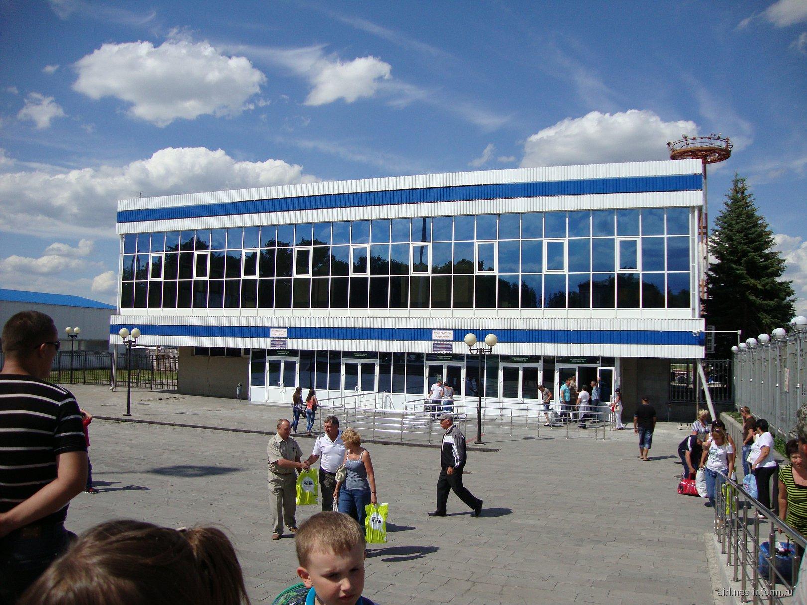 Терминал международных рейсов в аэропорту Минеральные Воды