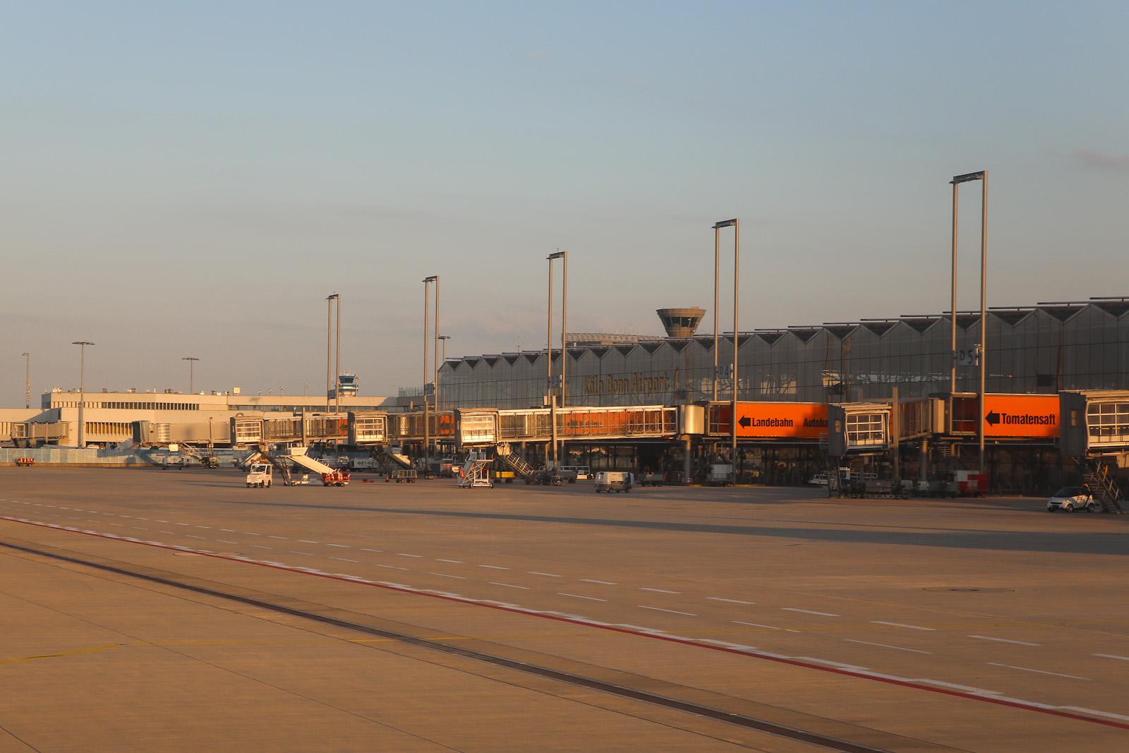 Терминал 2 аэропорта Кёльн/Бонн