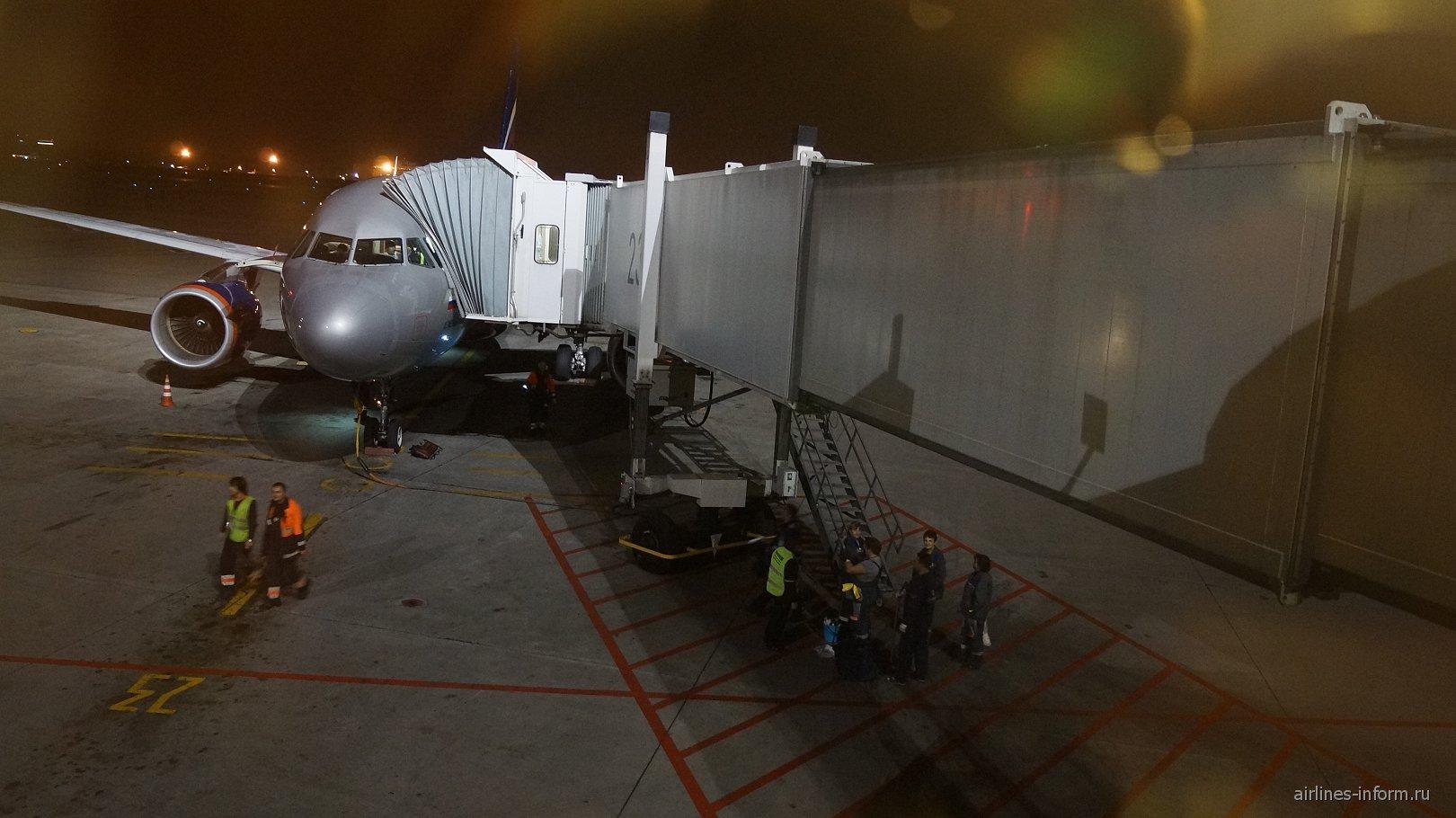 Airbus A319 Аэрофлота в Шереметьево