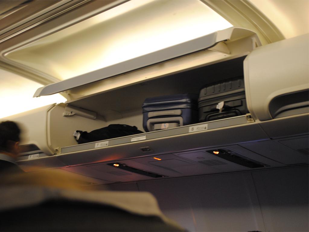 Салон самолета Боинг-757-200 авиакомпании ЮТэйр