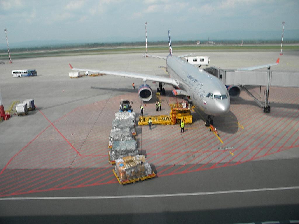 Обратно из Владивостока в Москву. А-330-300. Аэрофлот.