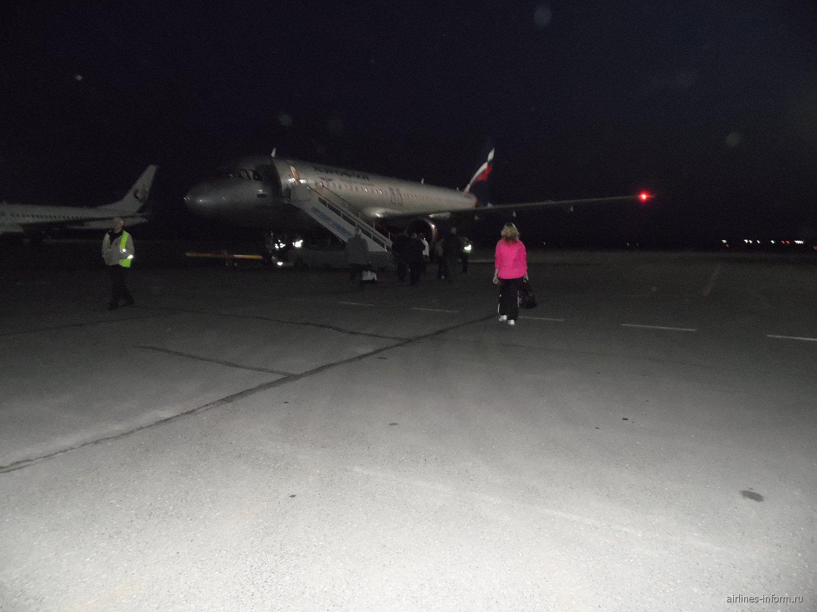 В аэропорту Оренбург