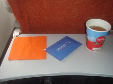 Питание на рейсе Аэрофлота Южно-Сахалинск-Москва
